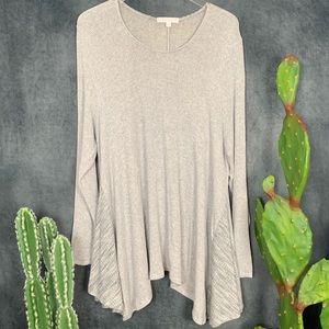 🌵Anthropologie Eri + Ali Grey Lightweight Sweater